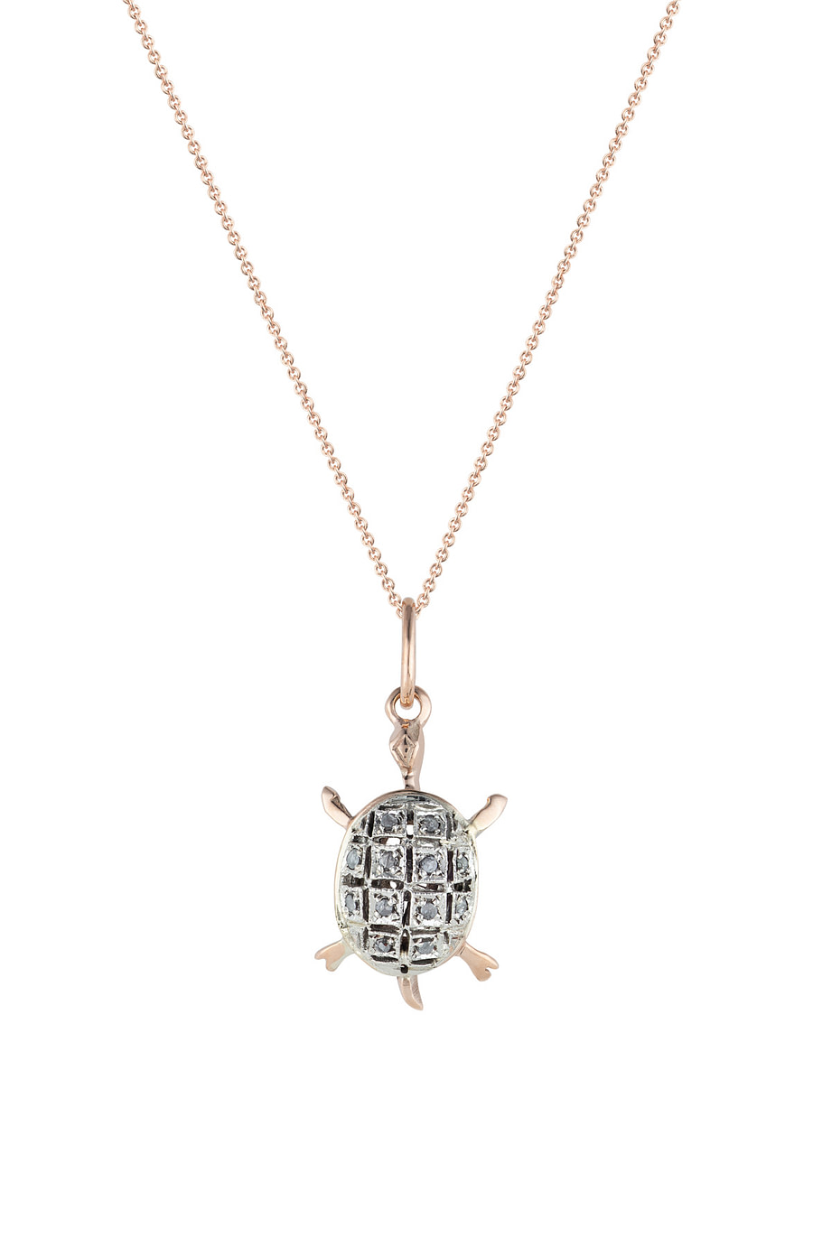 gold turtle pendant