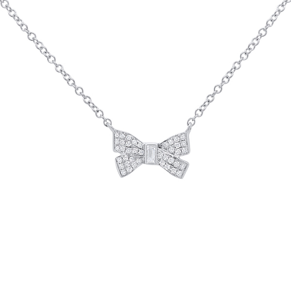 baguette diamond necklace pendant