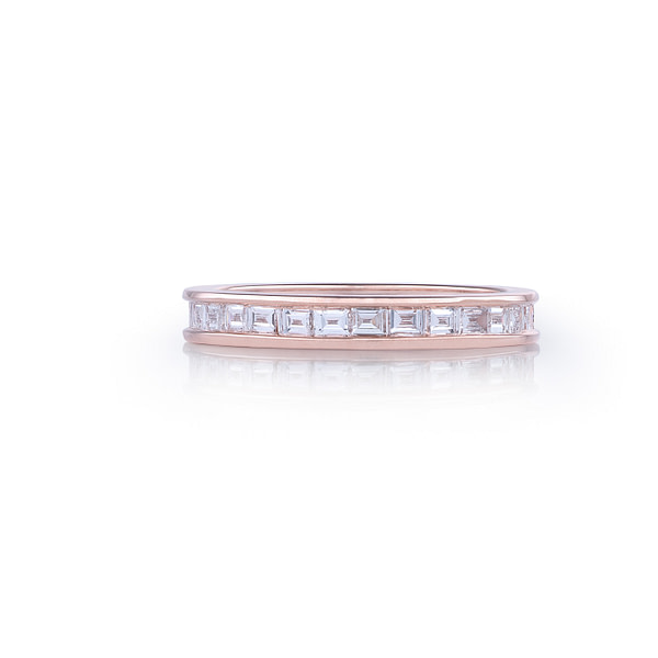 diamond eternity ring baguette